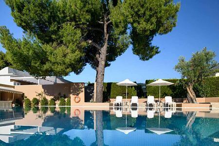 Swimming Pool at the Danai Beach Resort Greece