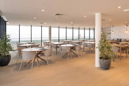 Pure Cafe at the Longevity Alvor Algarve Portugal