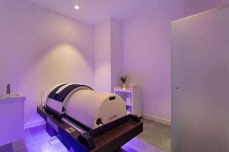 An Iyashi Dome in the Treatment room at the Longevity Alvor Algarve Portugal