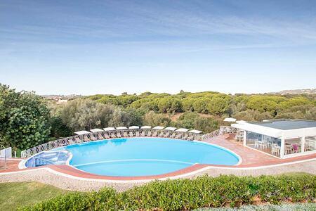 Aerial View of the Pool at Longevity Vilamoura Portugal