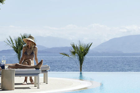 Ikos Dassia Corfu Infinity pool header