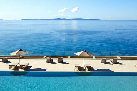 MarBella Elix Greece pool and sea view -header-image